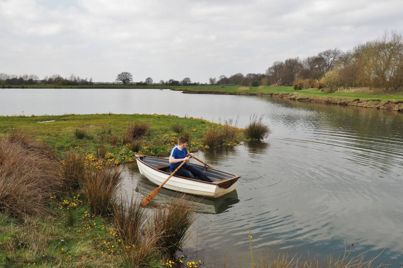 Woodward Lakes and Lodges Josh Boat