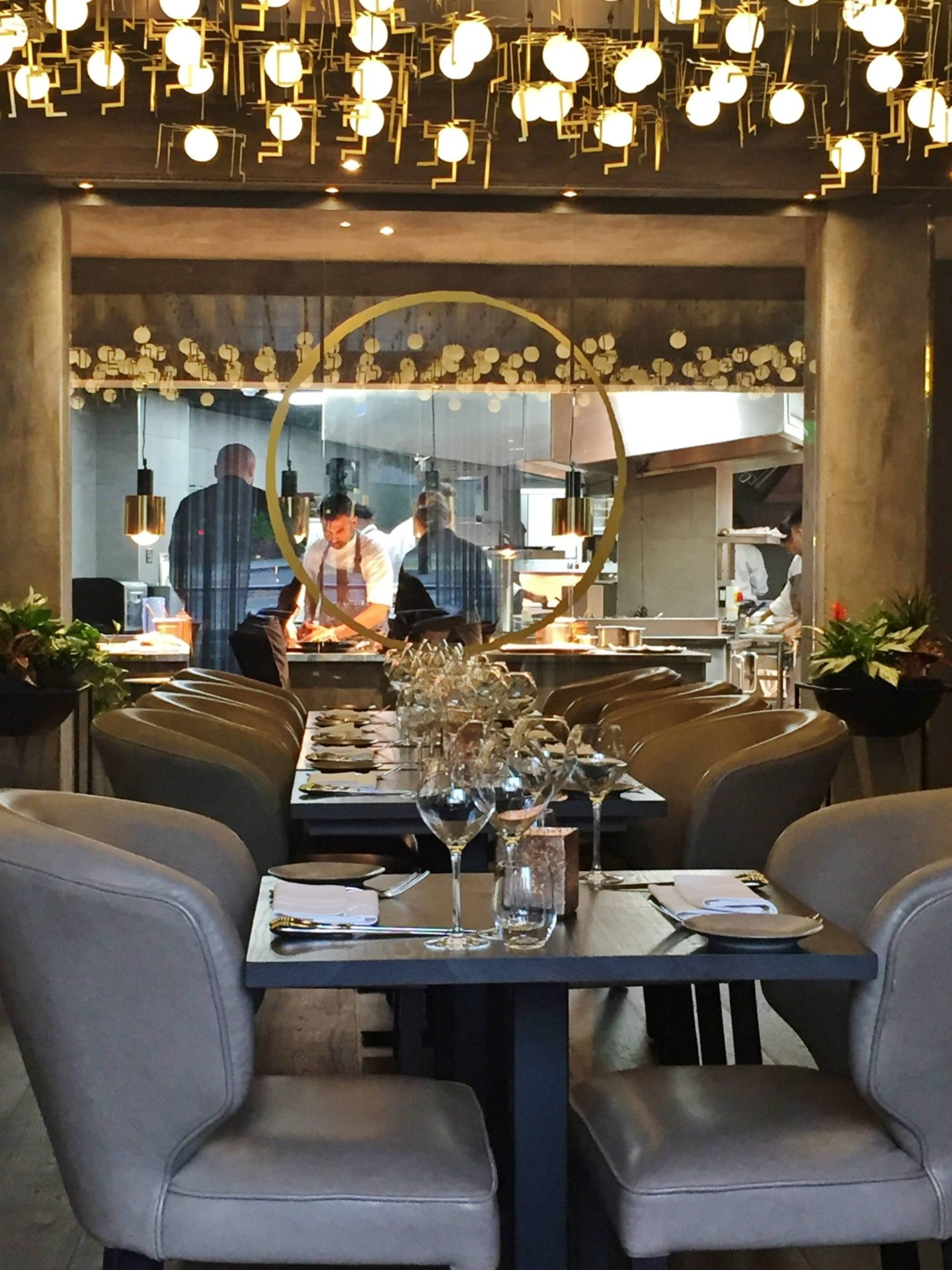 Opheem Birmingham Review Restaurant Grey