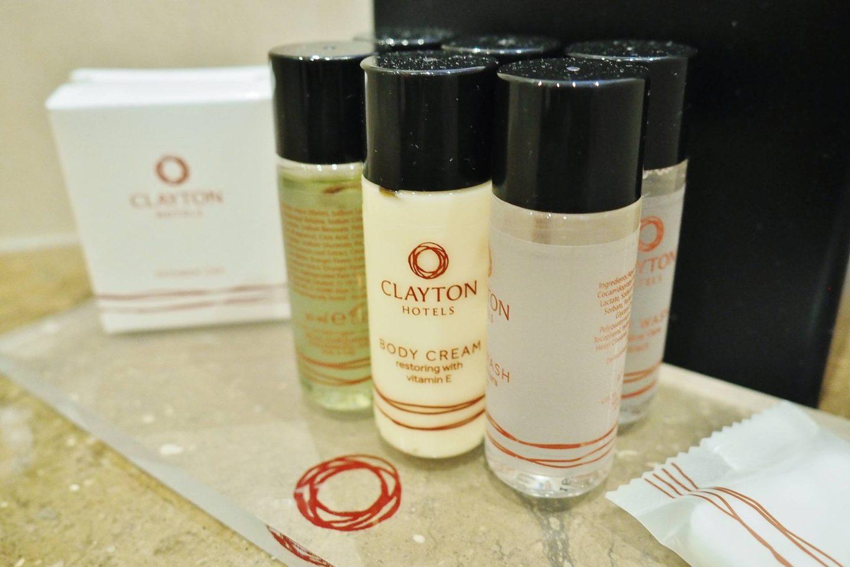Clayton Hotel Bathroom Essentials