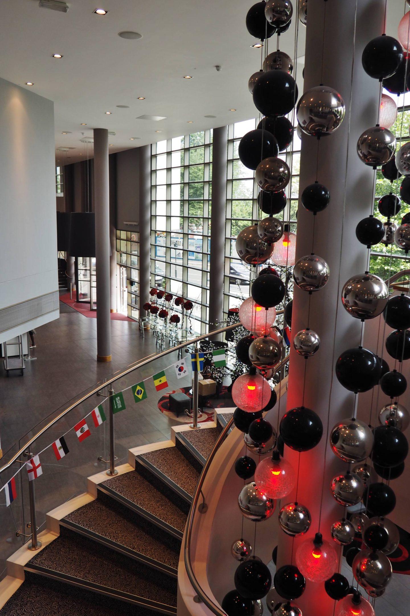Clayton Hotel Lobby Birmingham