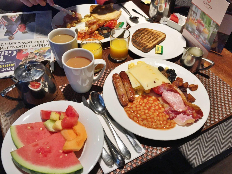 Clayton Hotel Vitality Breakfast