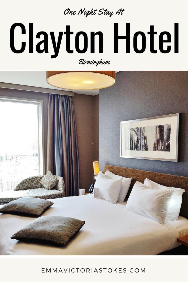 Clayton Hotel Birmingham Review Emma Victoria Stokes