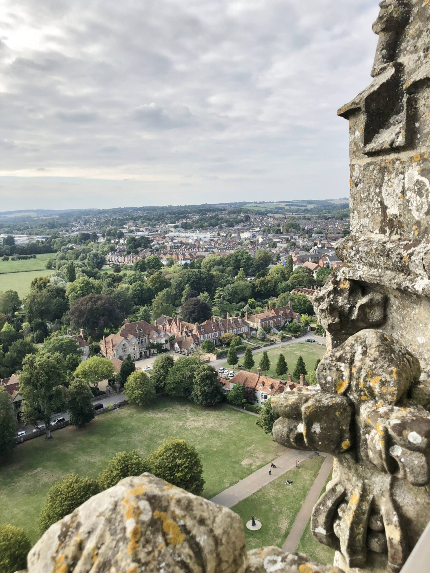 Salisbury Cathedral Tour Visit Wiltshire Aerial View
