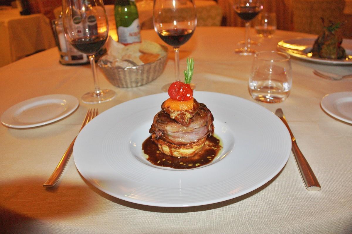 Emma Victoria Stokes Una Palazzo Mannaioni Food Tasting