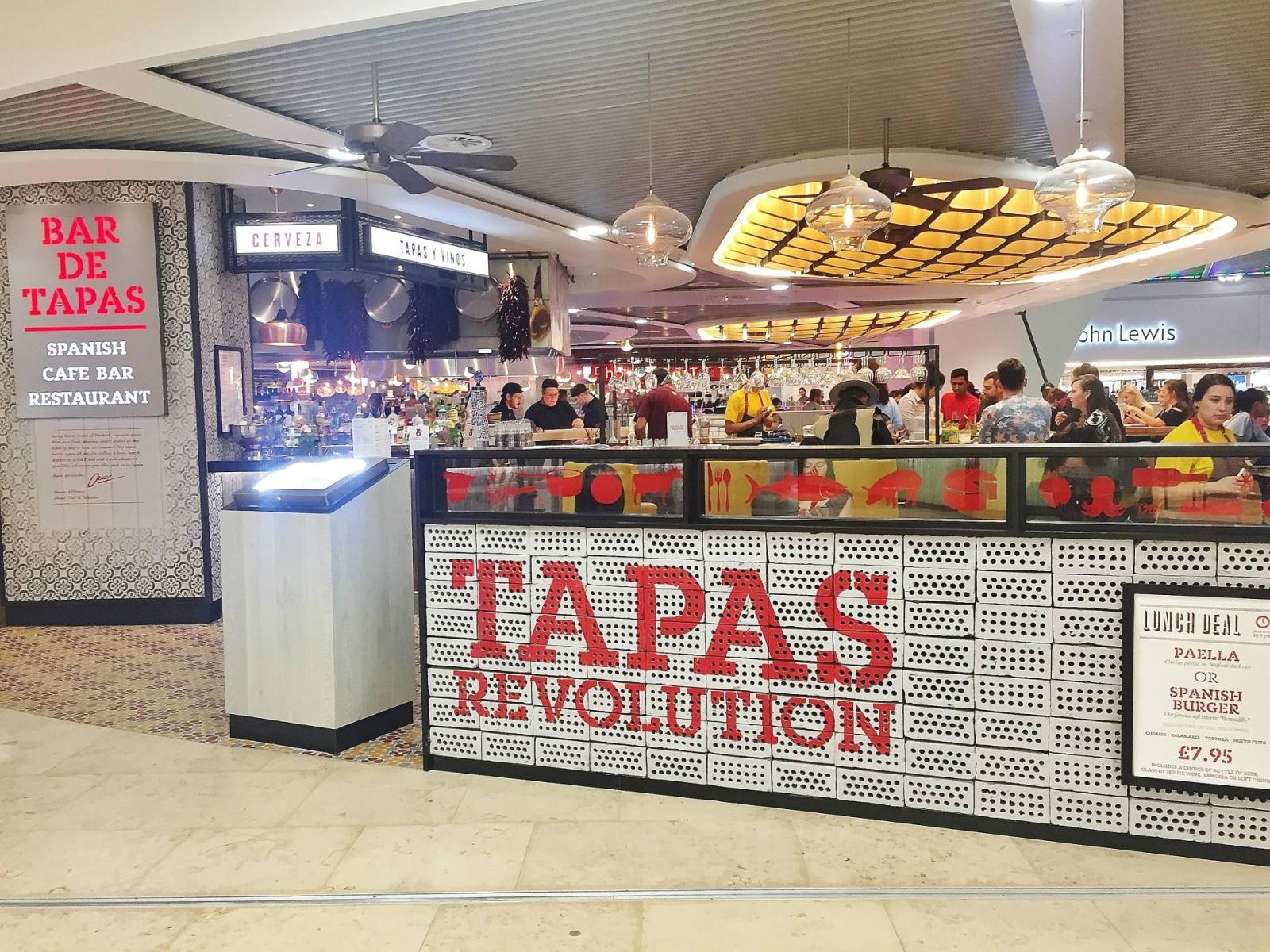 Tapas Revolution Grand Central