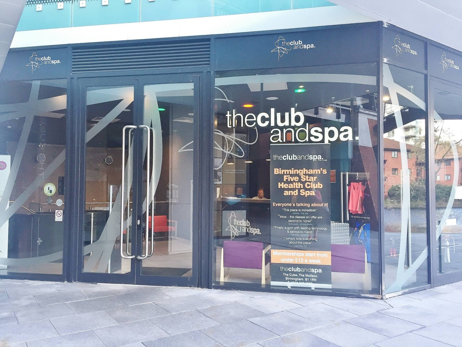 The Club & Spa at The Cube Birmingham