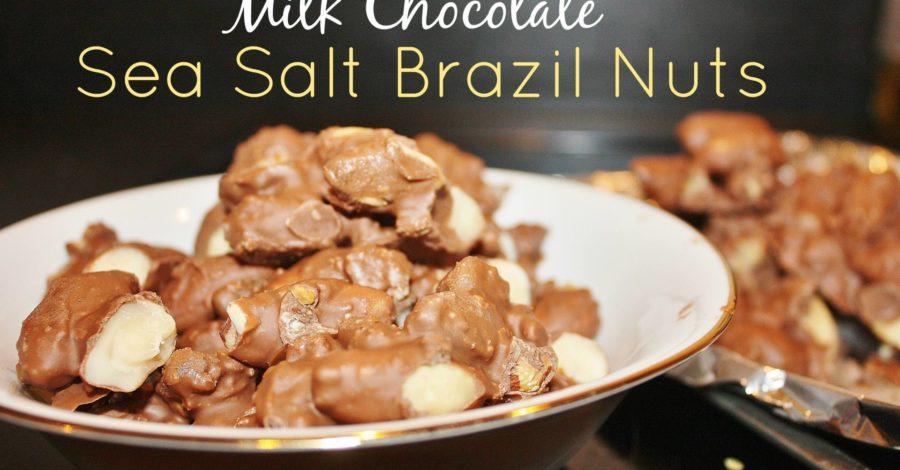 Milk Chocolate Sea Salt Nuts