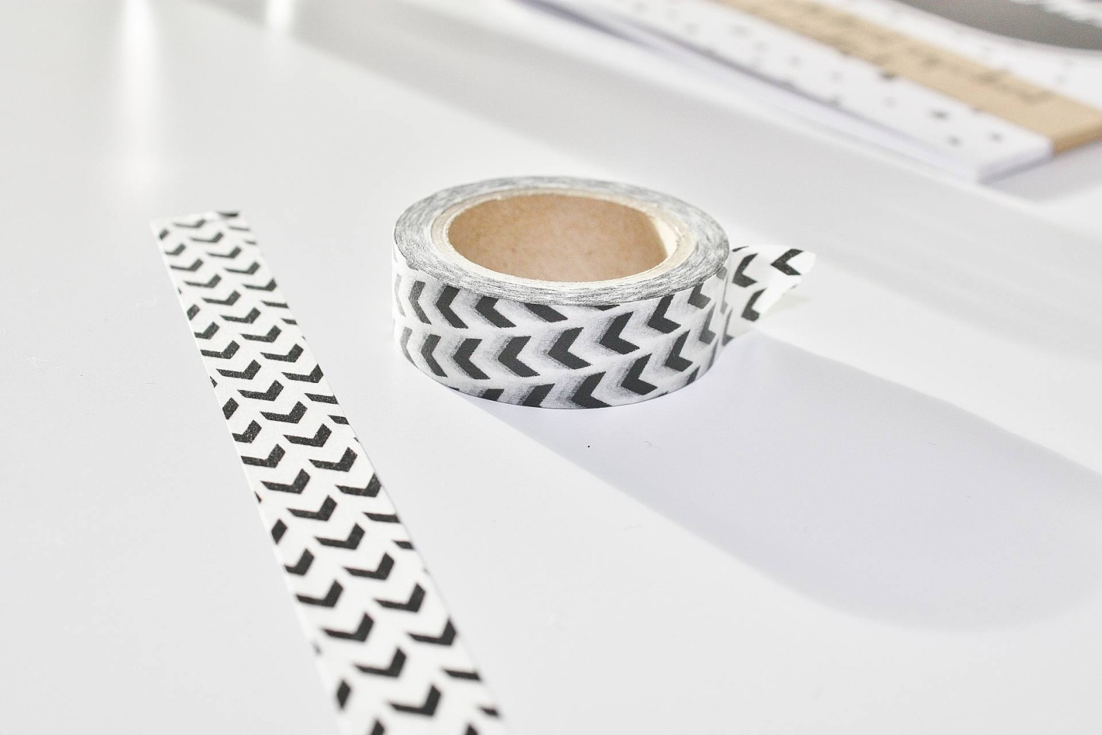 Monochrome Desk Essentials