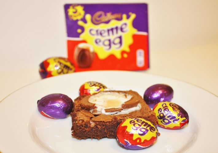 Cream Egg Brownies