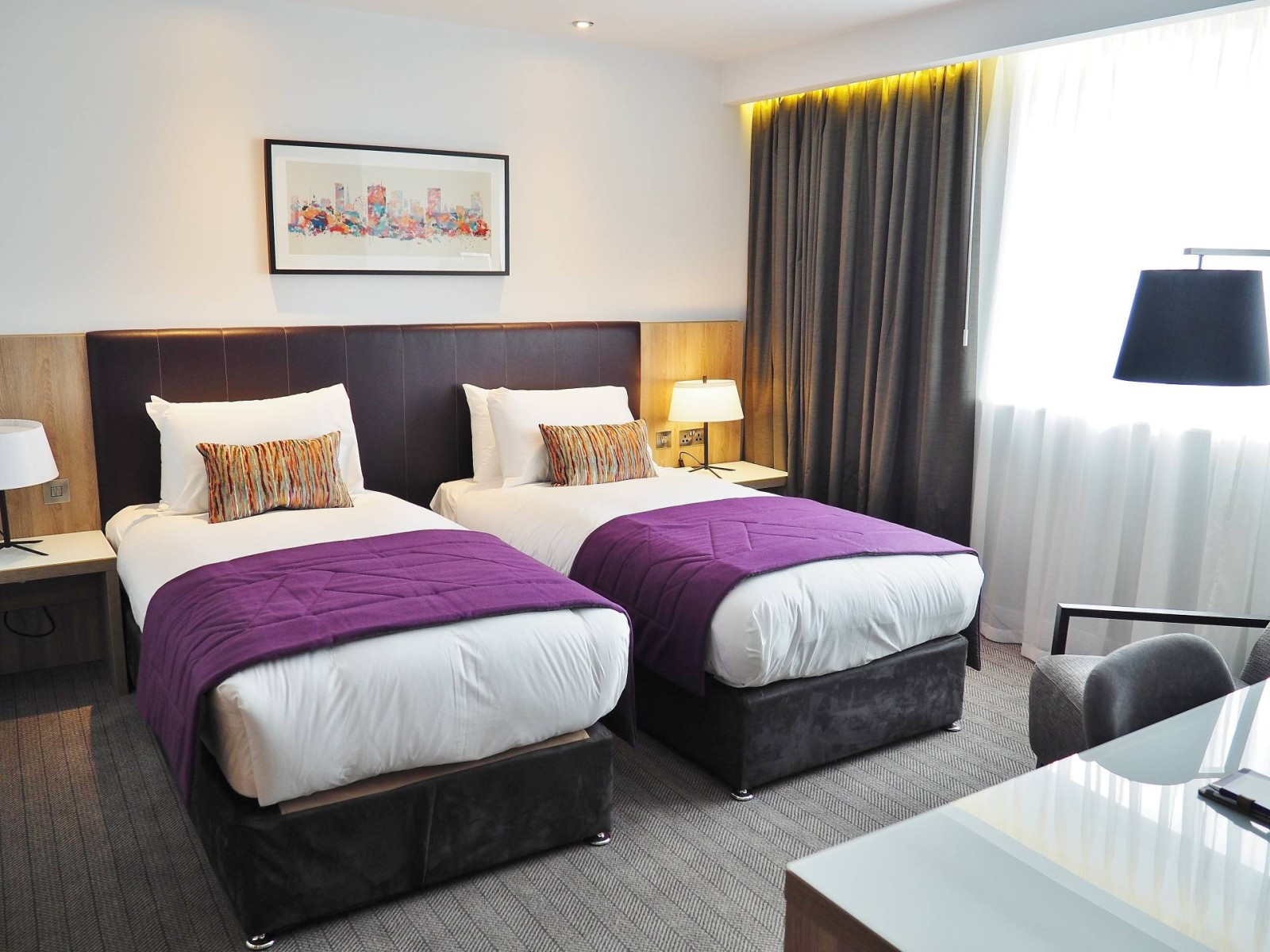 Park Regis Twin Room