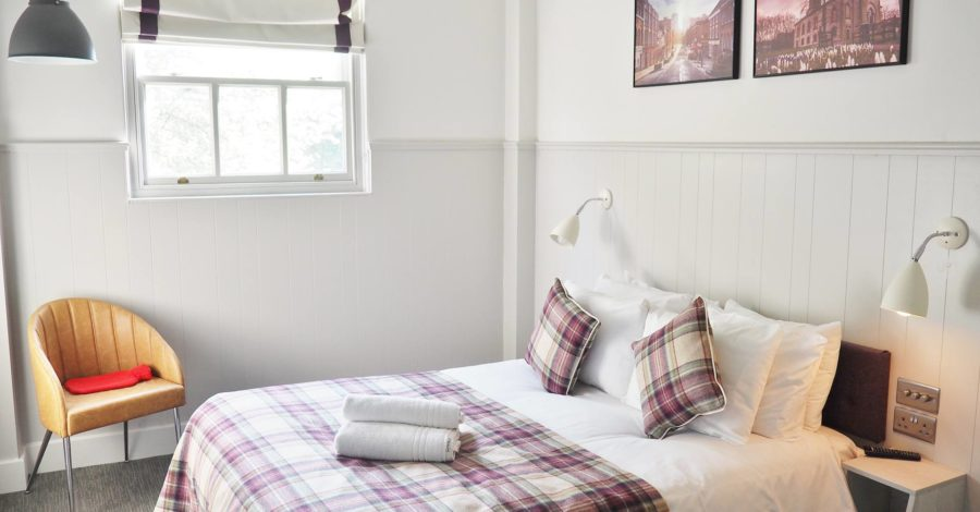 Emma Victoria Stokes Saint Pauls Boutique Hotel Bed