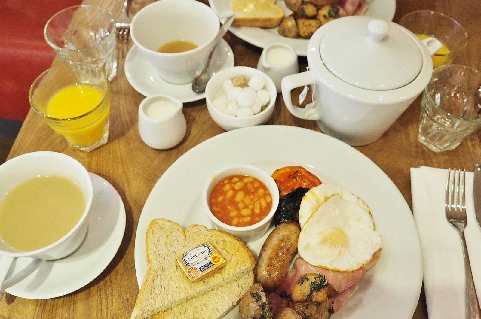 Emma Victoria Stokes Saint Pauls Boutique Hotel Breakfast