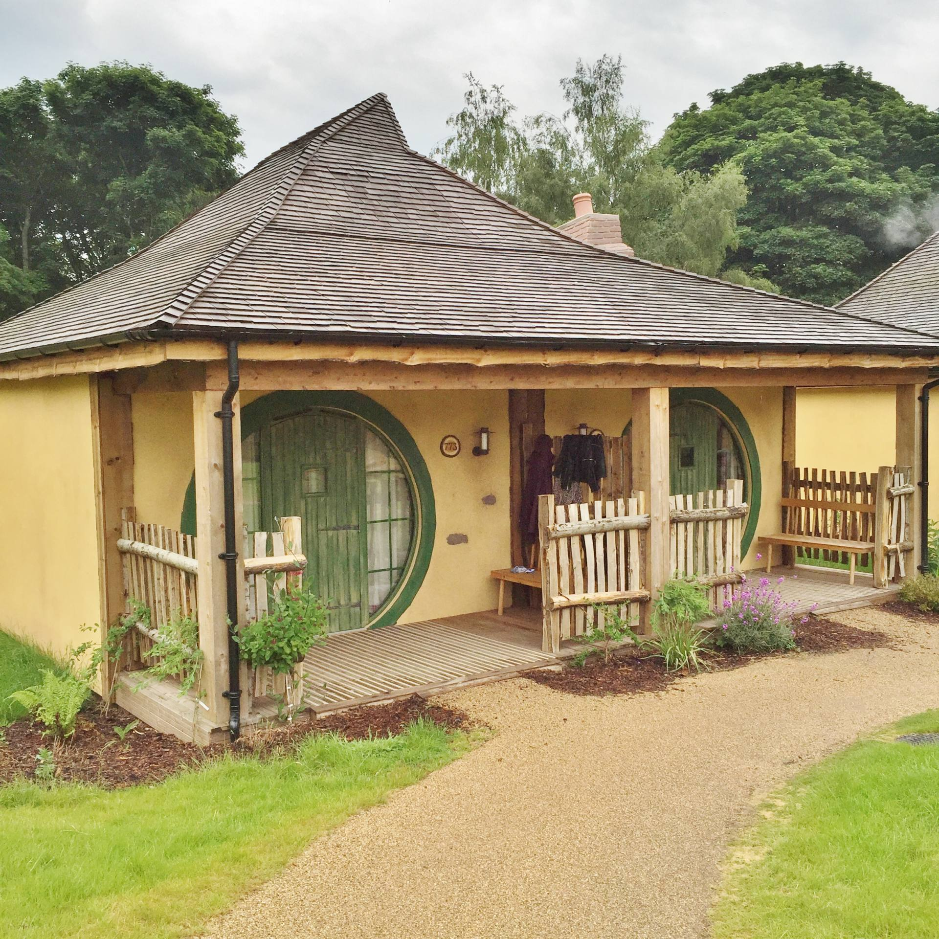 Emma Victoria Stokes Enchanted Lodges Alton Towers The Shire House