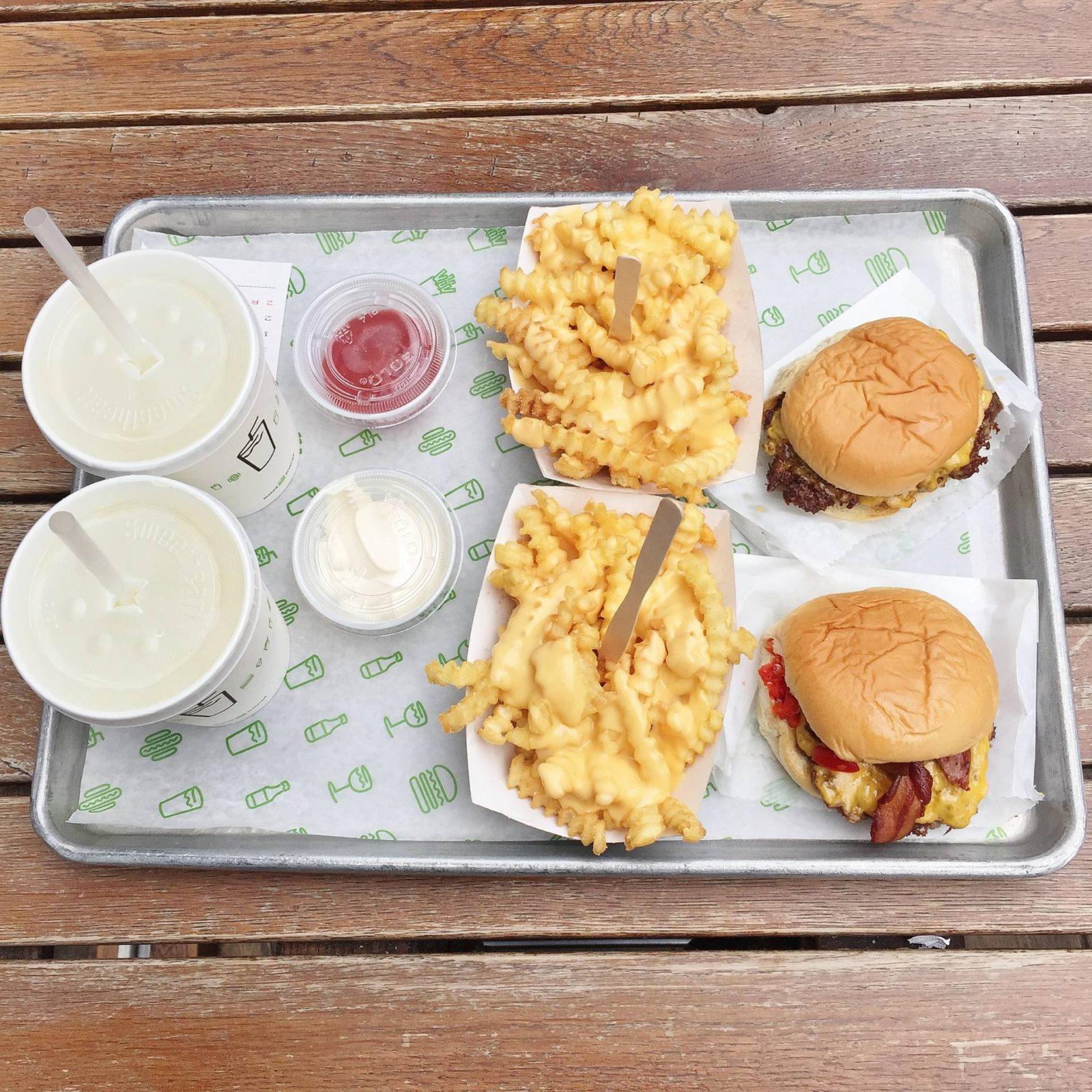Emma Victoria Stokes Shake Shack London