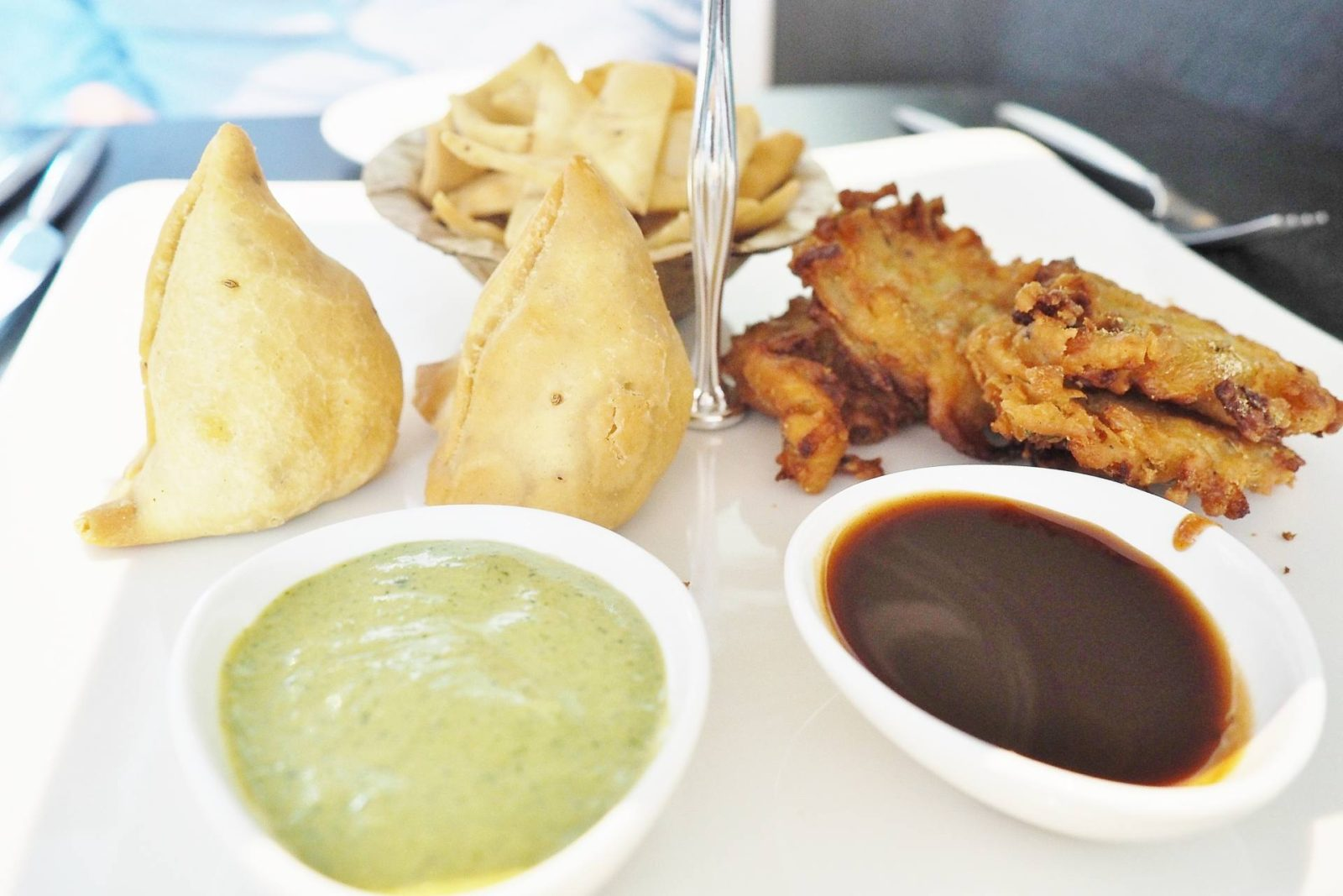 Praza Indian Afternoon Tea Emma Victoria Stokes Samosas