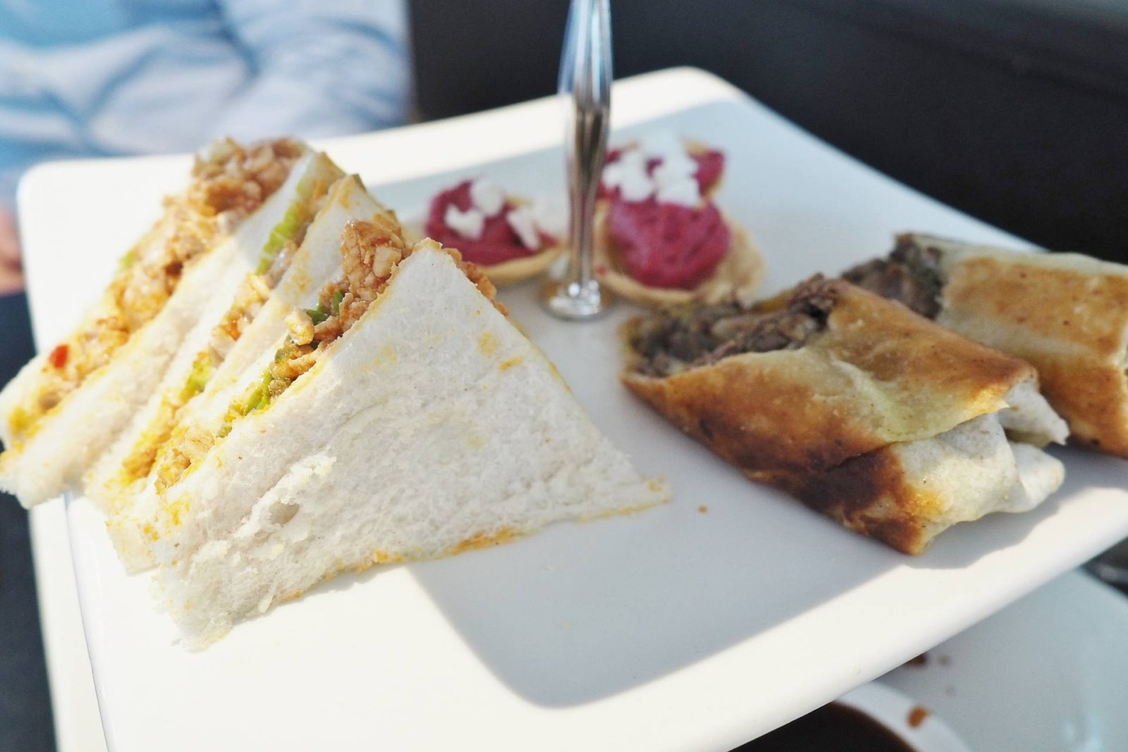 Praza Indian Afternoon Tea Emma Victoria Stokes Sandwiches