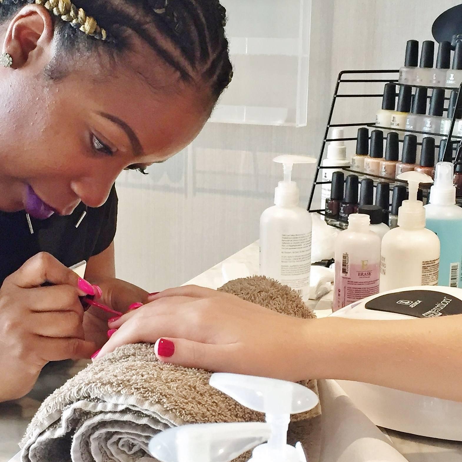 Shakina Spa Gel Manicure Birmingham