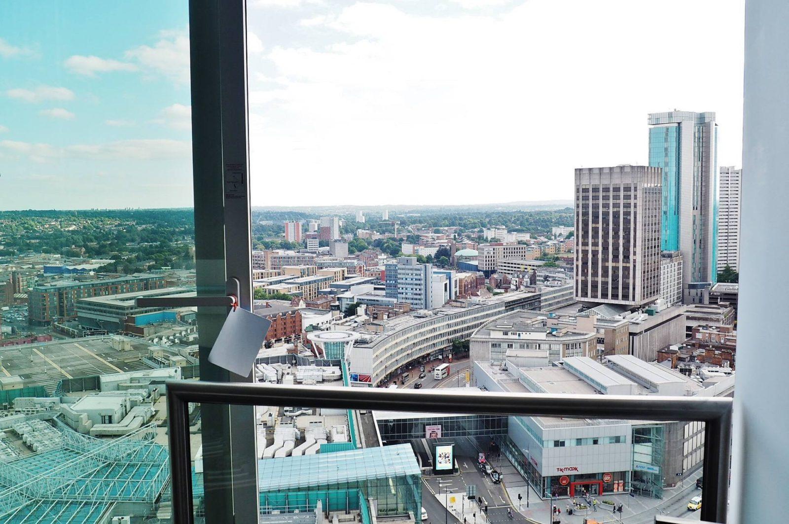 Emma Victoria Stokes Rotunda Apartment Balcony View