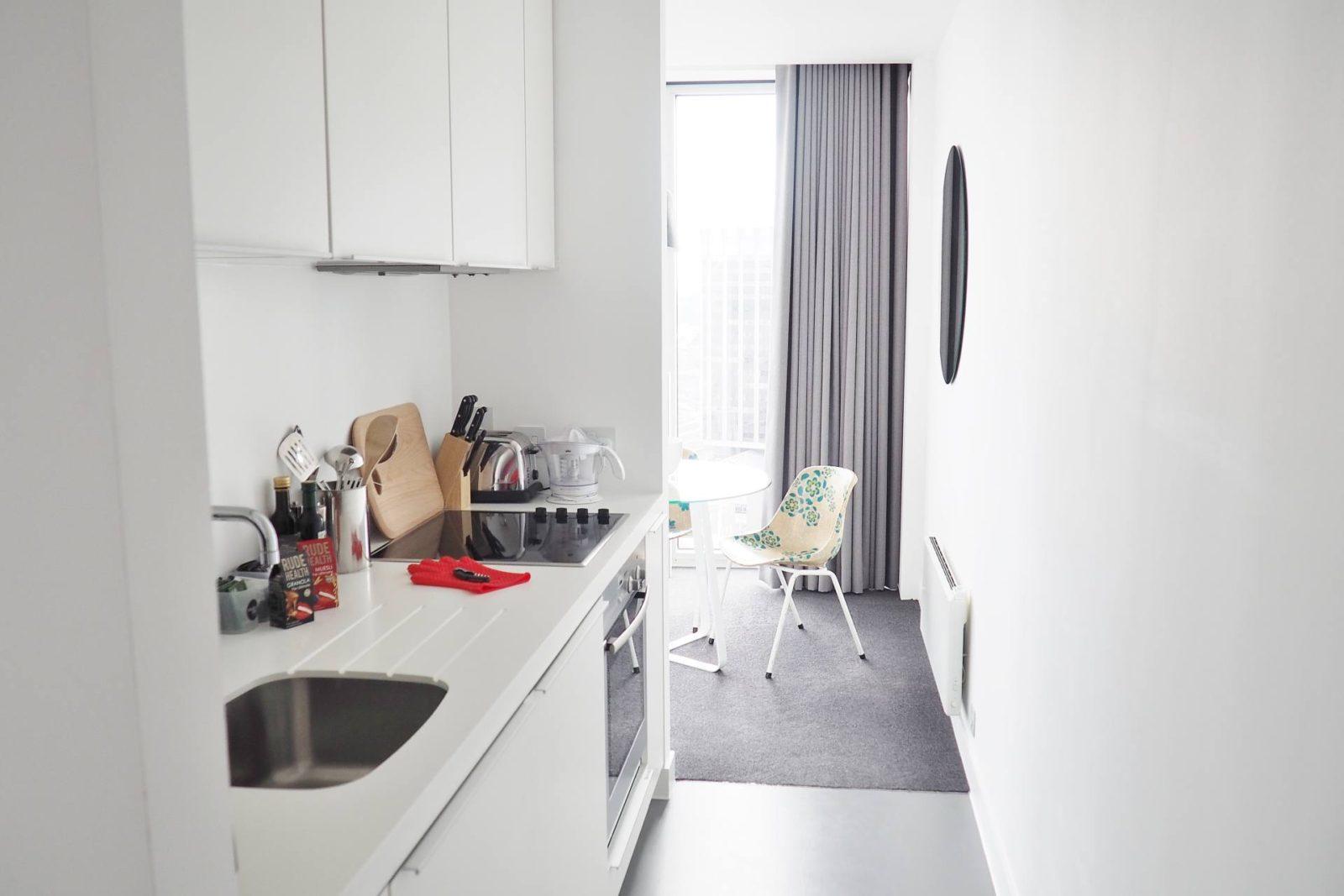 Emma Victoria Stokes Rotunda Apartment Kitchen