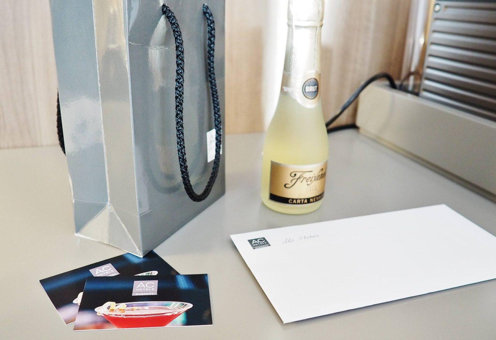 Emma Victoria Stokes AC Hotel Birmingham Marriott Blogger Gifts