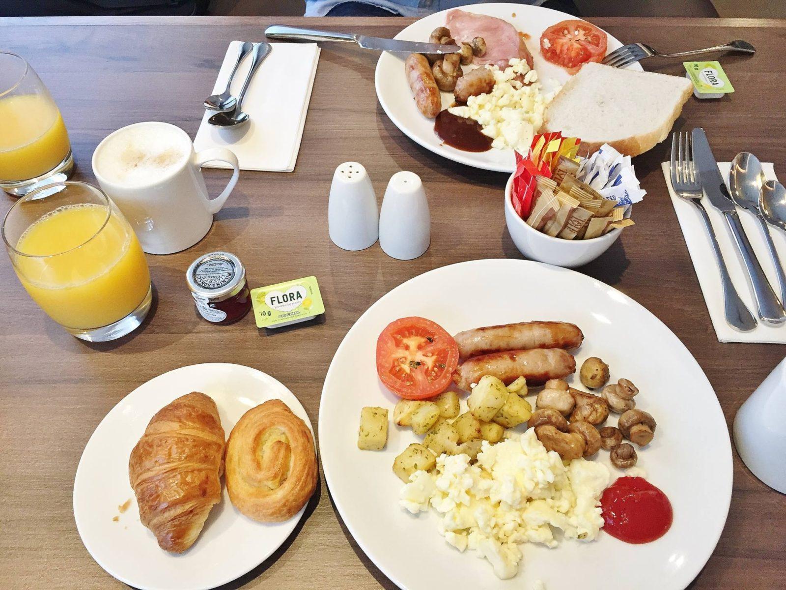 Emma Victoria Stokes AC Hotels Marriott Fried Breakfast