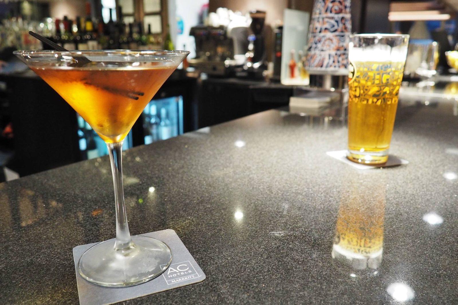 Emma Victoria Stokes AC Hotels Marriott Manhattan Cocktail