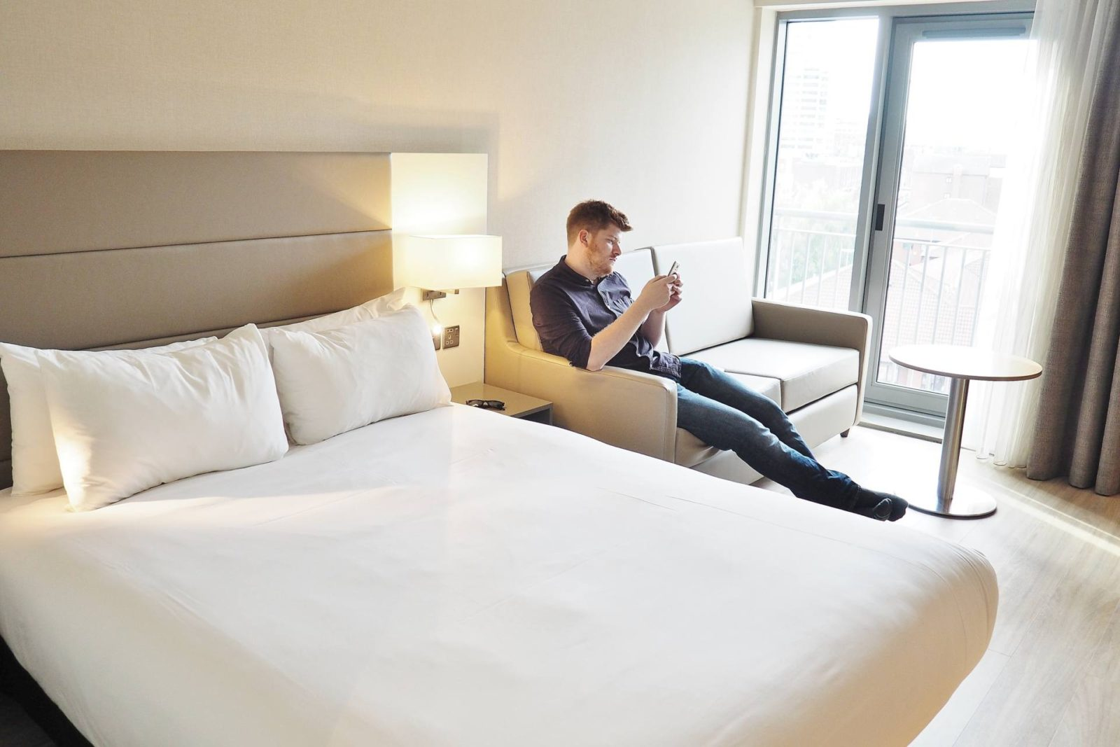 Emma Victoria Stokes AC Hotel Marriott Superior Room Double Room