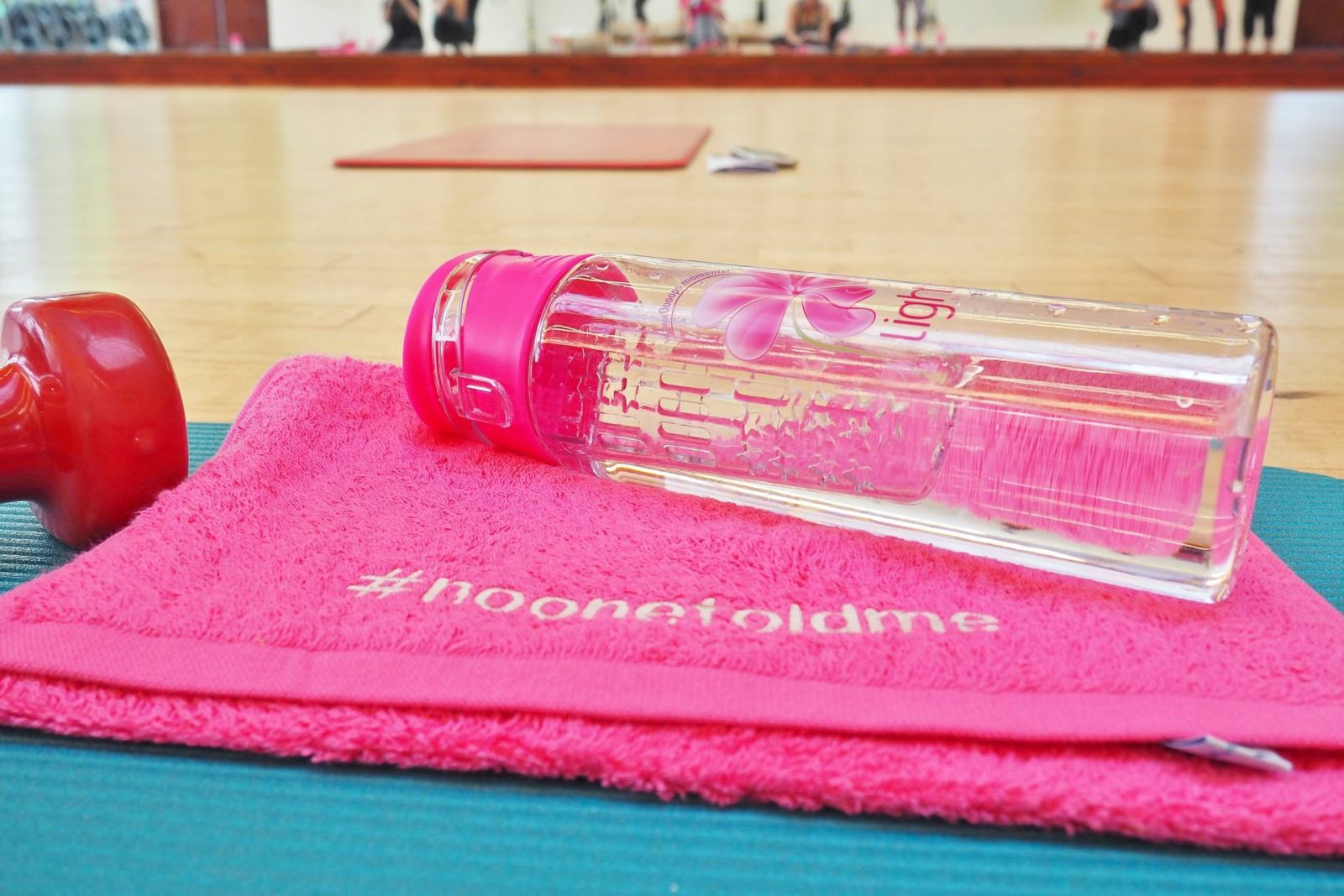 Emma Victoria Stokes Champneys Springs Spa No One Told Me Water Bottle