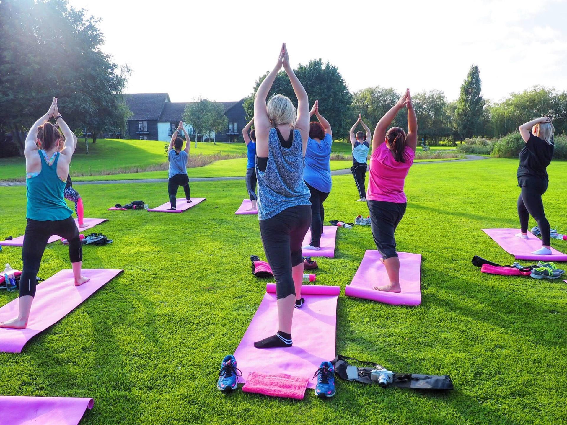 Emma Victoria Stokes Champneys Spa Yoga Lights by Tena