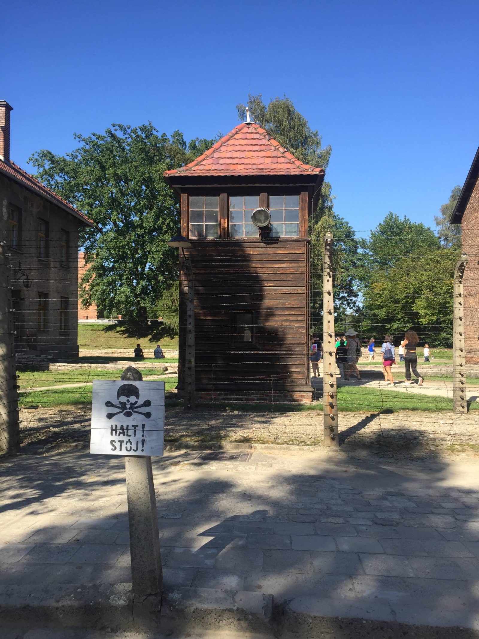 Emma Victoria Stokes Krakow Auschwitz