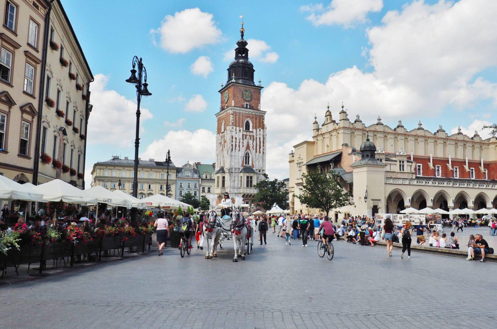 Emma Victoria Stokes Krakow Main Square Old Town