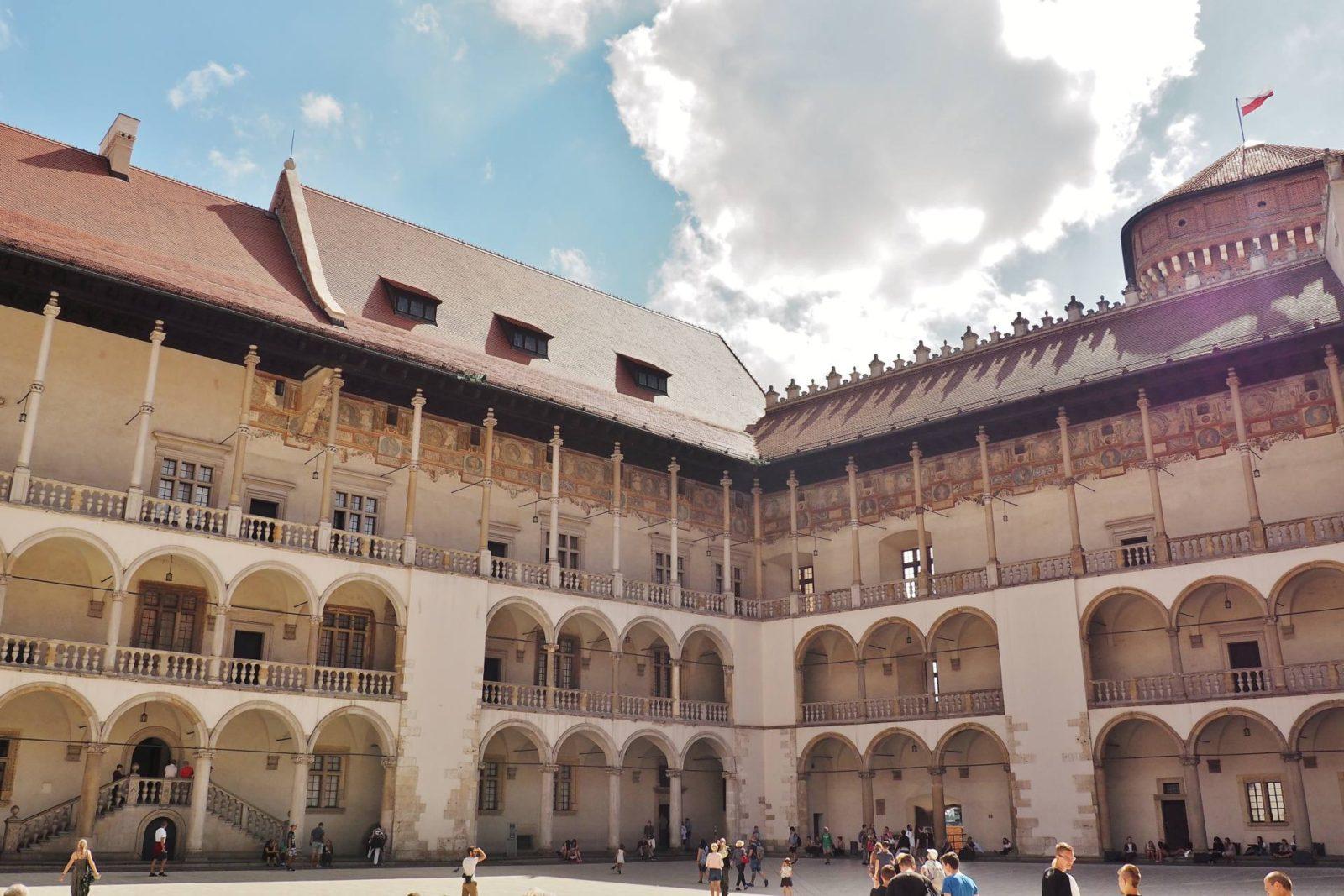 Emma Victoria Stokes Wawel Royal Castle Krakow