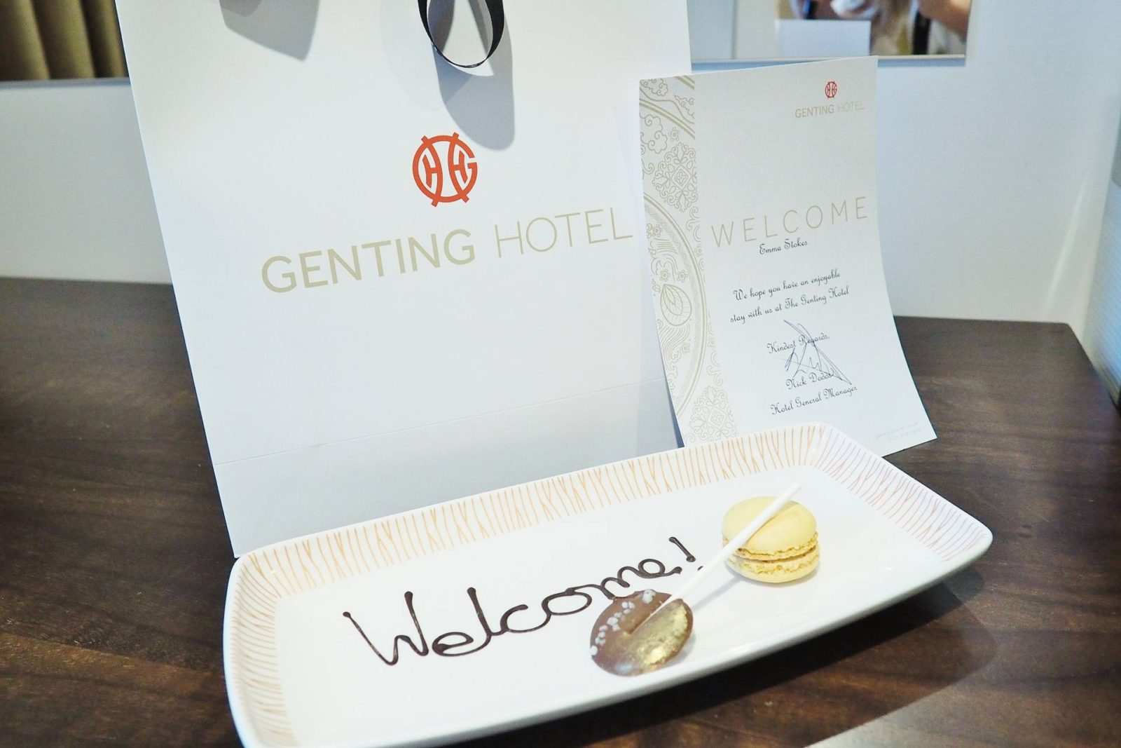 Genting Hotel Welcome