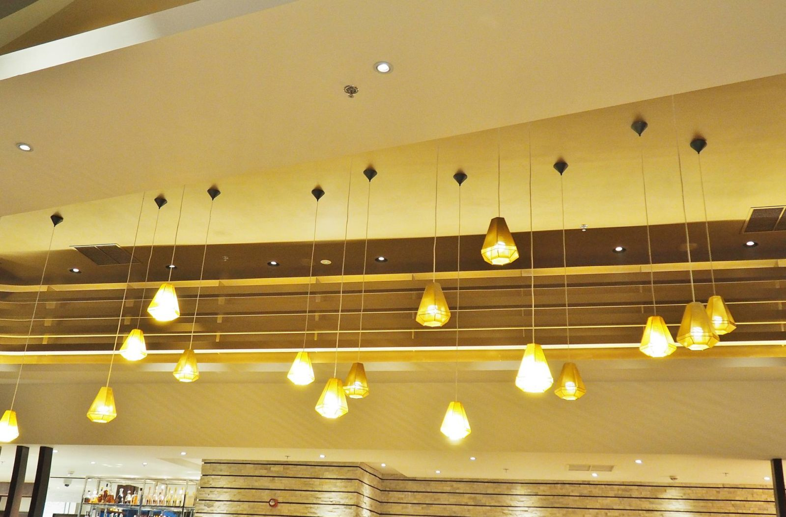 Robata Resorts World Lighting