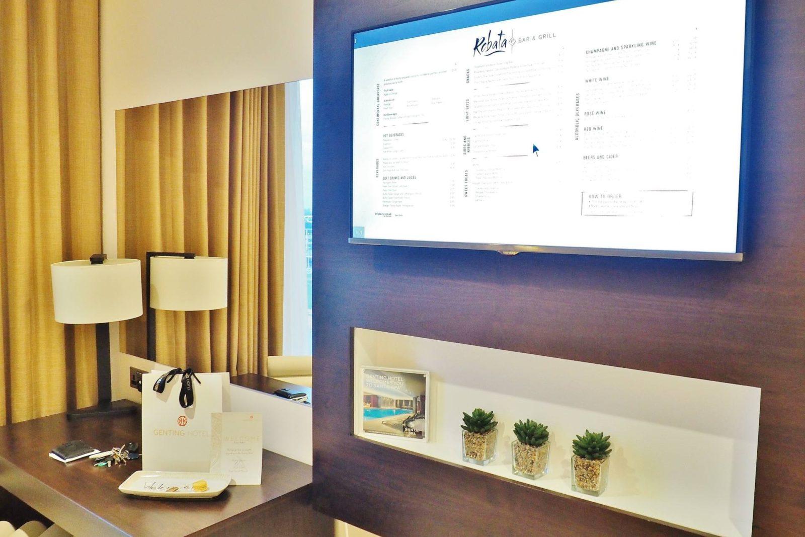 Genting Hotel TV