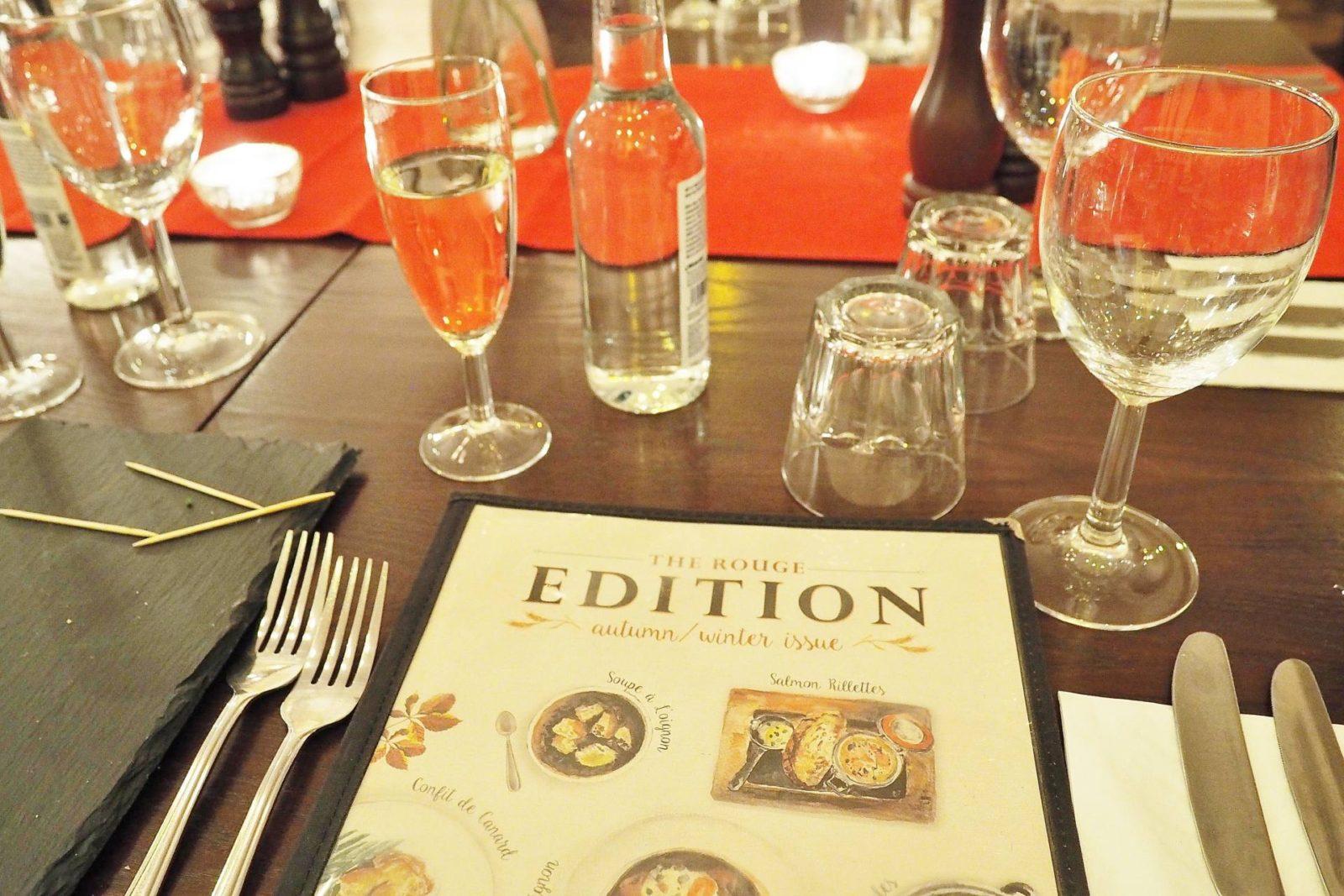Emma Victoria Stokes Cafe Rouge Secret Supper Autumn Winter Menu