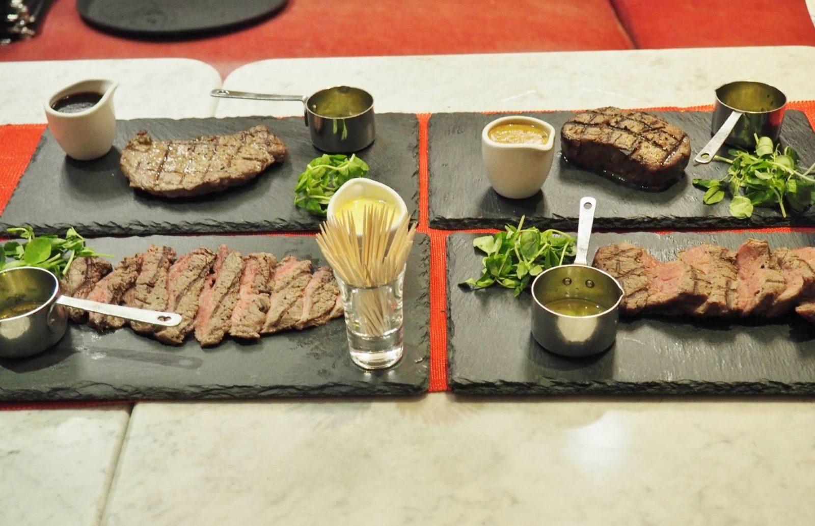 Emma Victoria Stokes Cafe Rouge Secret Steak Supper Steaks