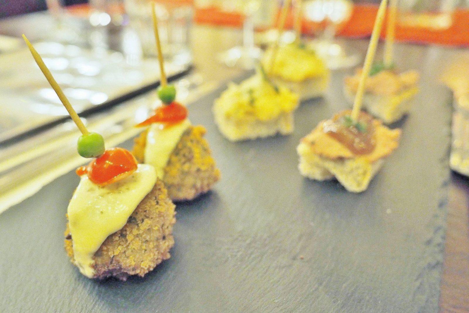 Emma Victoria Stokes Cafe Rouge Secret Steak Supper Canapes Autumn Winter Menu