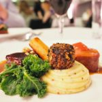 Emma Victoria Stokes Elegant Eat Fine Dining Edgbaston Cricket Ground Fillet Of Pork