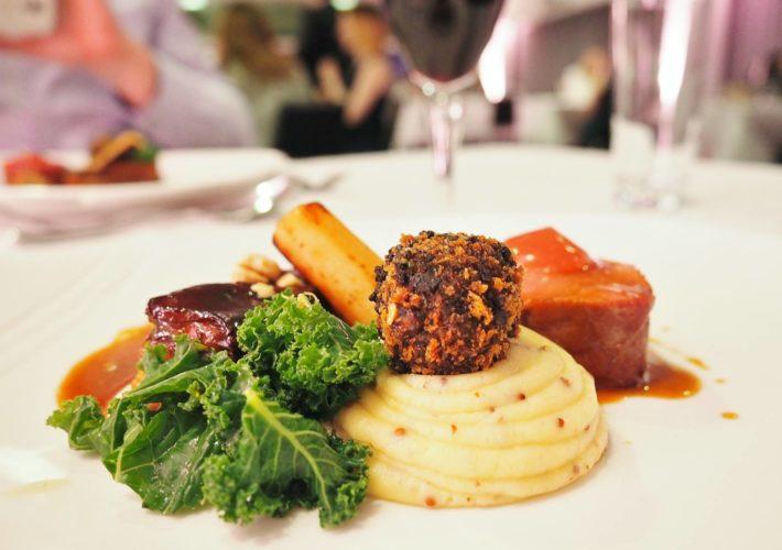 Emma Victoria Stokes Elegant Eat Fine Dining Edgbaston Cricket Ground Fillet Of Pork