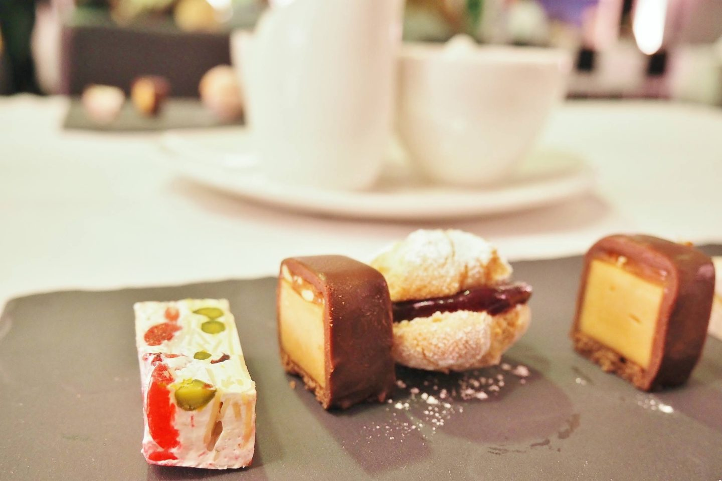 Emma Victoria Stokes Elegant Eat Fine Dining Edgbaston Cricket Ground Petit Fours