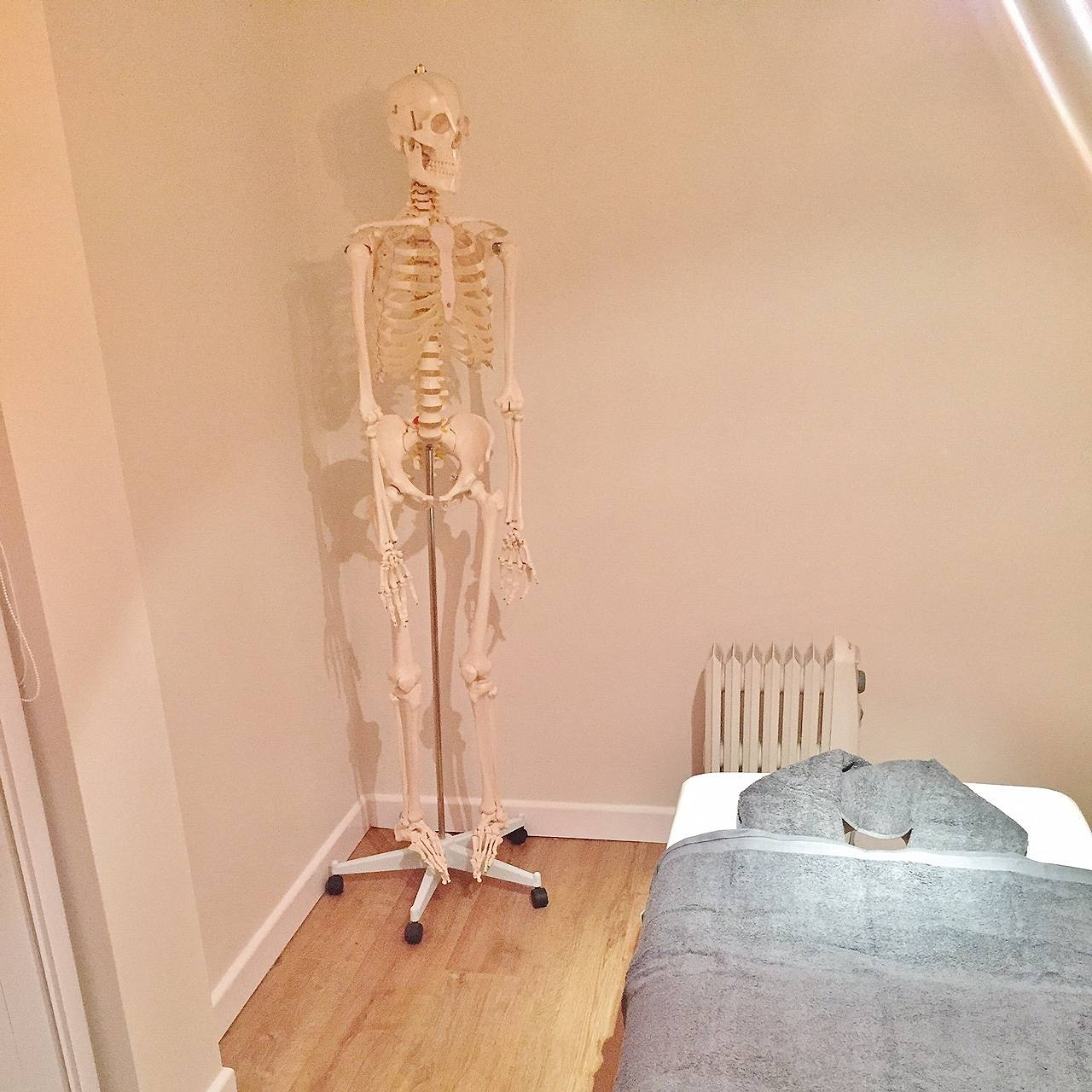 Emma Victoria Stokes Empower AH Massage Skeleton