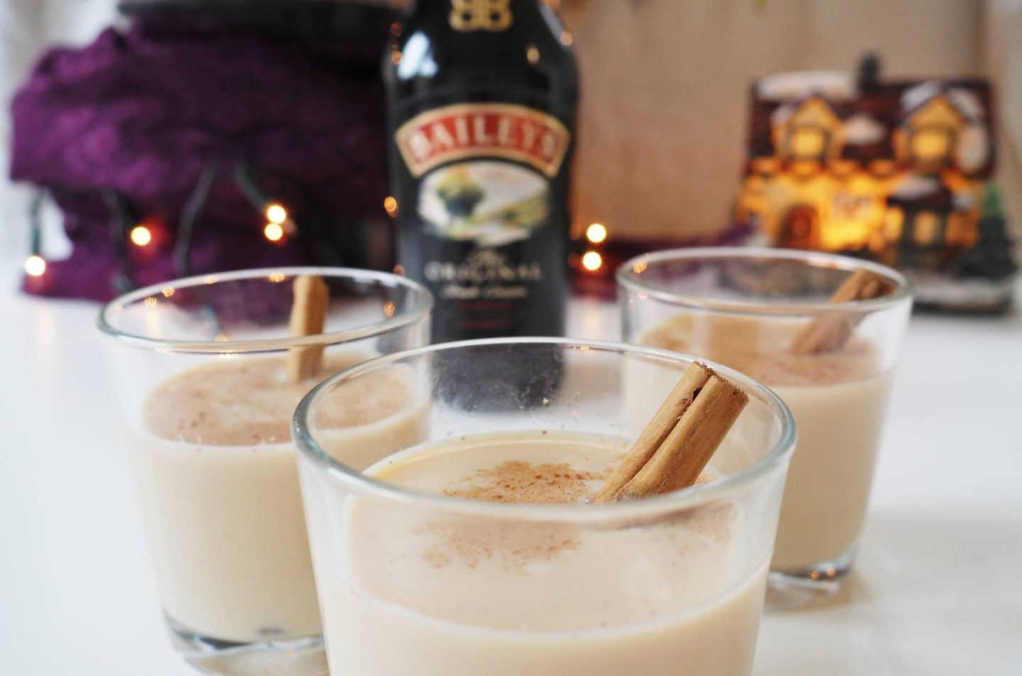 Emma Victoria Stokes Diageo Baileys Eggnog Cocktail Sponsored Post