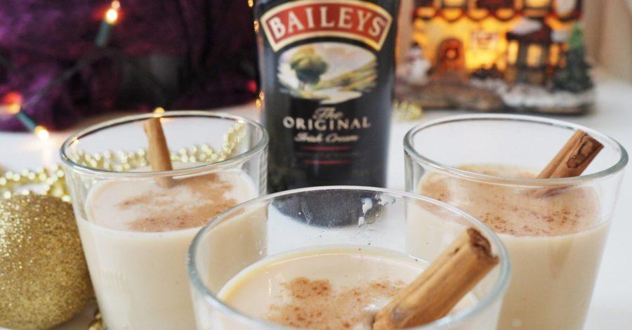 Emma Victoria Stokes Diageo Baileys Eggnog Cocktails Sponsored Post