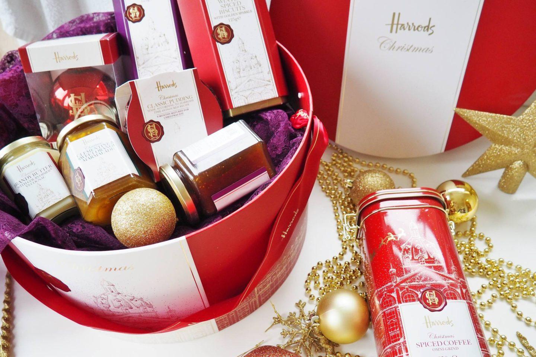 Harrods Christmas Hamper Box A Christmas Carol Collaboration Emma Victoria Stokes