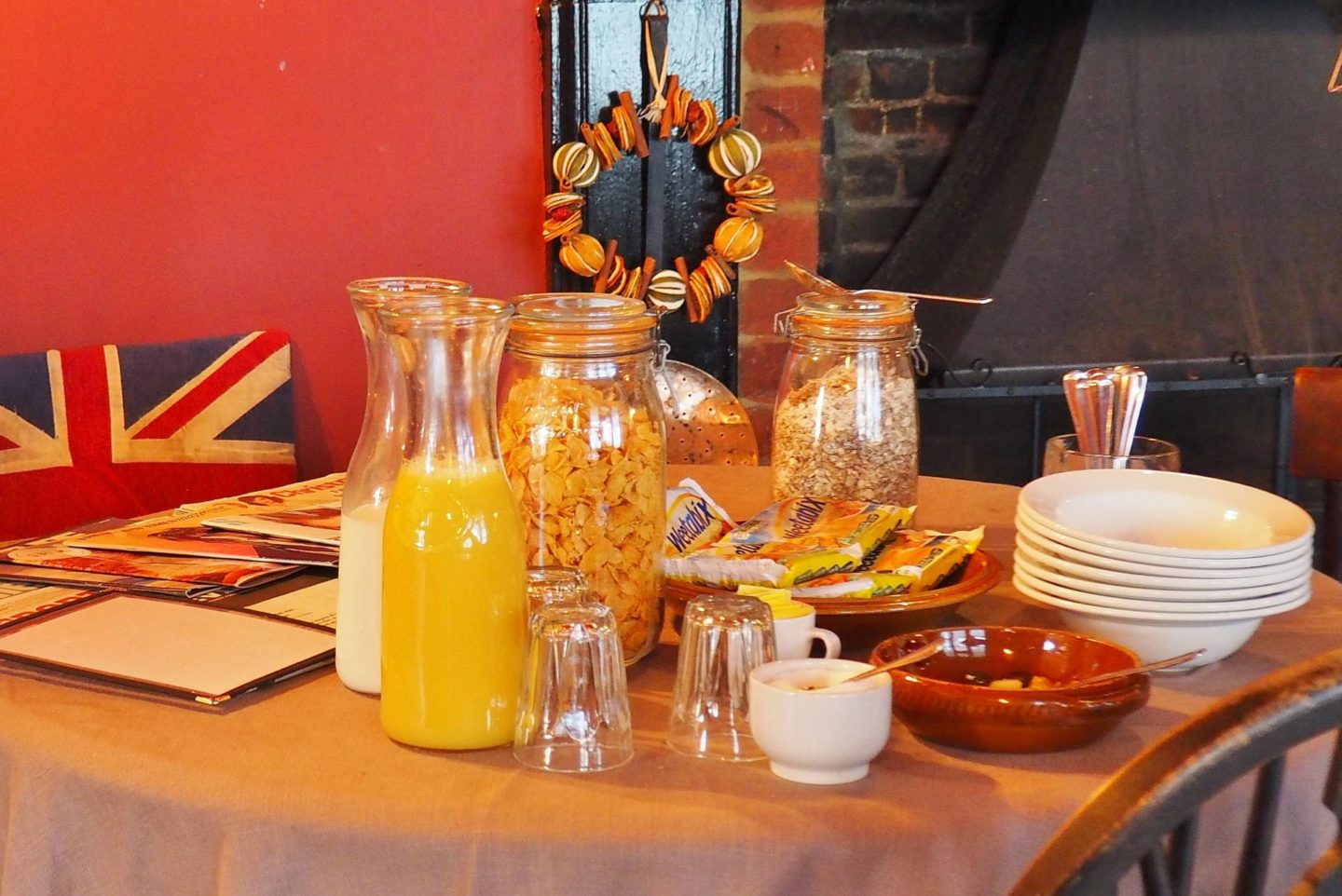 The Fat Fox Inn Watlington Blogger Review Breakfast