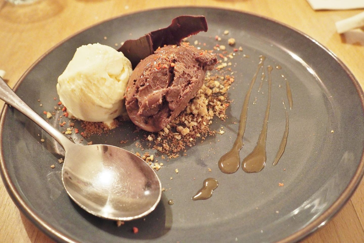 The Fat Fox Watlington Blogger Review Restaurant Baileys Ice Cream