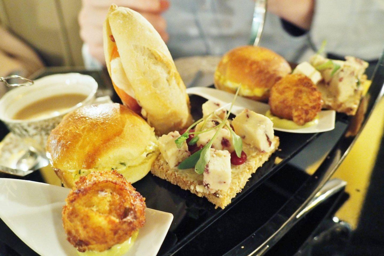Emma Victoria Stokes Afternoon Tea Edgbaston Sandwiches Scones Cheese