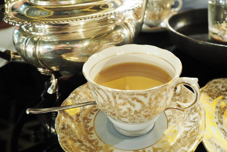 Emma Victoria Stokes Afternoon Tea Edgbaston Hotel Dry Ice Amuse Bouche