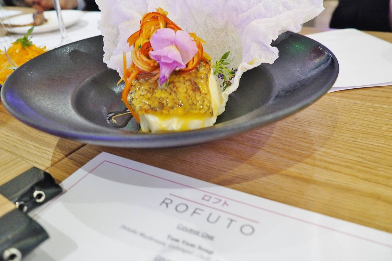 Emma Victoria Stokes Taste of Rofuto Seabas Rice Crisp